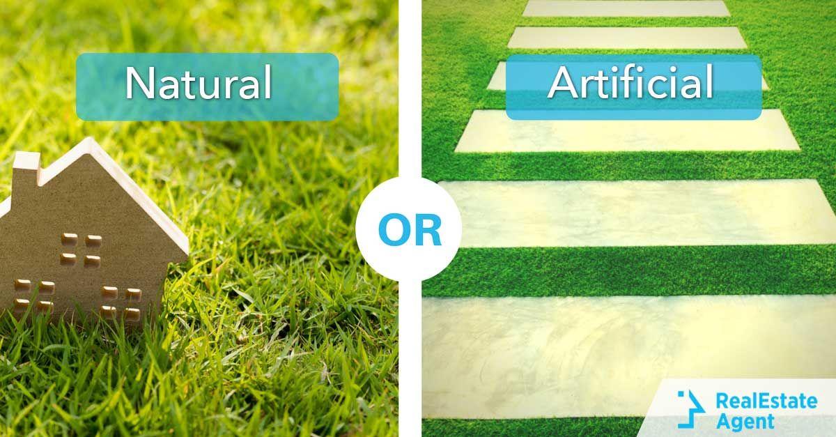 Natural Grass Vs. Artificial Grass