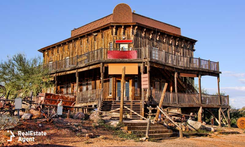 Ghost Towns In Arizona