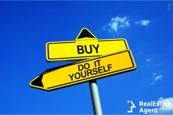 buy or do it yourself sign