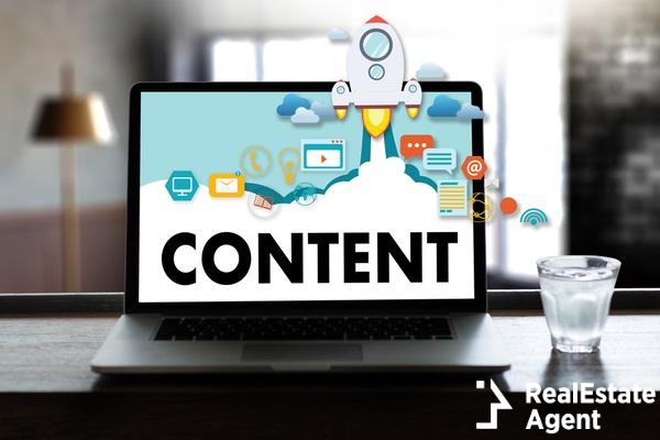 content data marketing concept