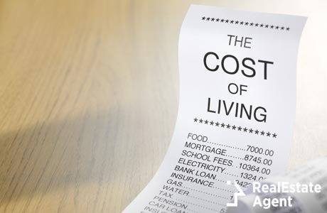 cost of living shopping list