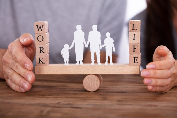 couple protecting life and work balance