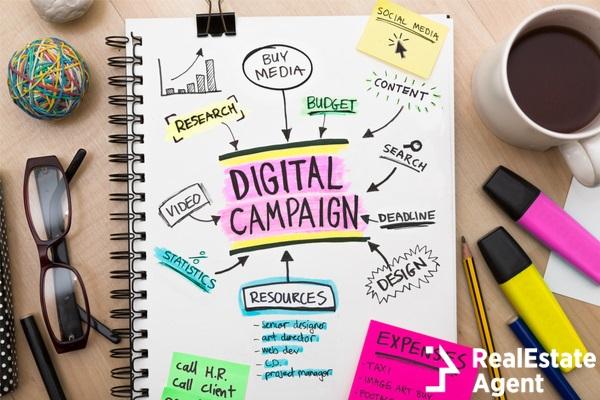 digital campaign concept