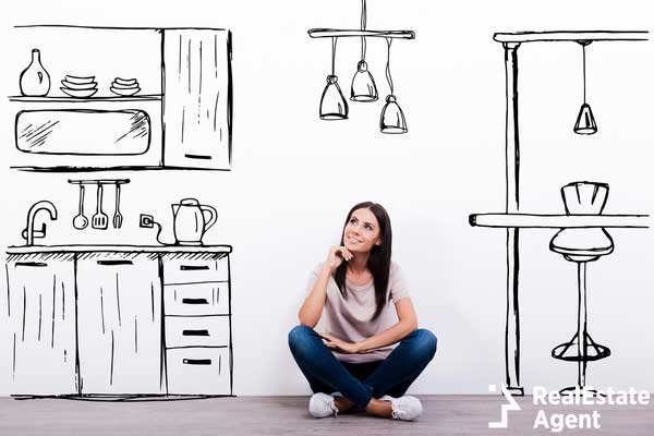 dreaming about new kitchen concept