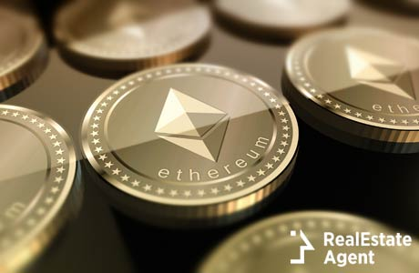 ethereum cryptocurrency in 3d