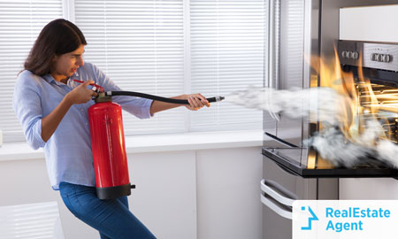 Fire Extinguisher Essential Home items