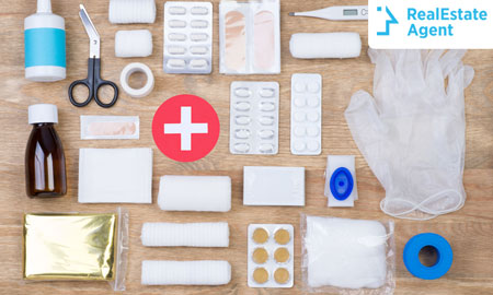 First Aid Kit Essential Home Items