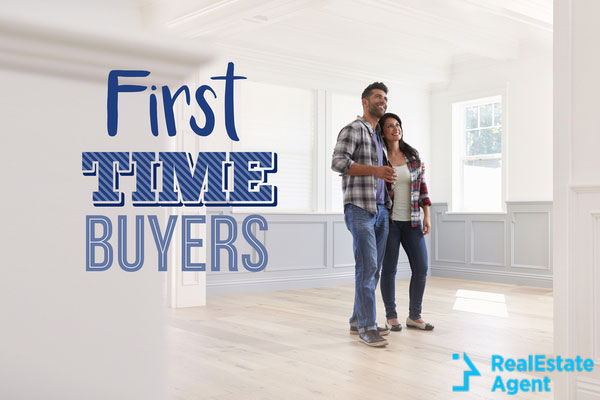 first time home buyers couple