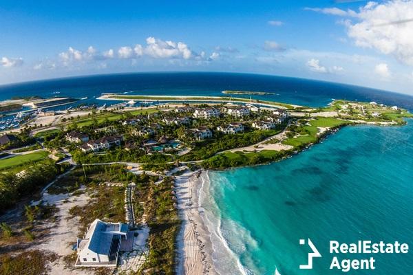 florida skyline aerial view