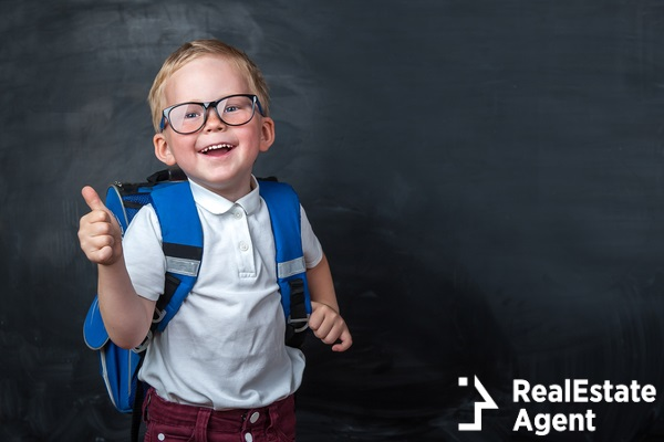 happy smilling boy with glasses