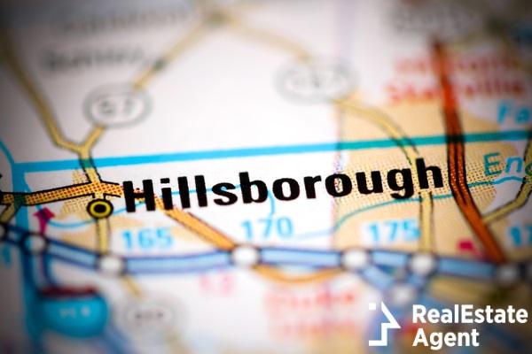 hillsborough map
