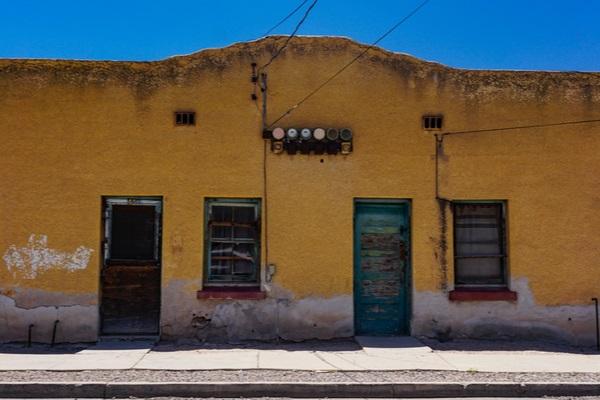 historic building on tucson arizona usa