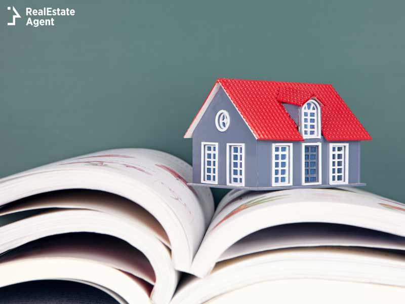 house on real estate book