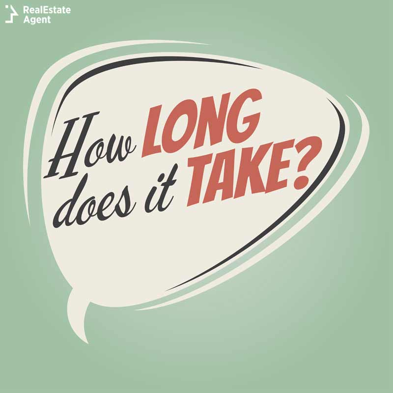 how long does it take to become a real estate agent