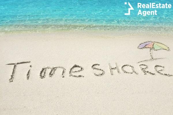 inscription time share on sand