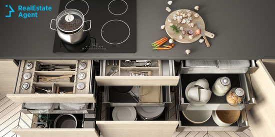 kitchen drawer for home buyers