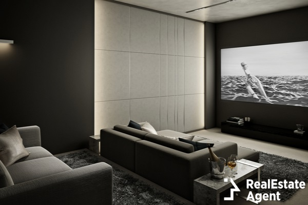 luxury home theater room