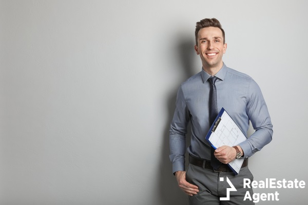male real estate agent