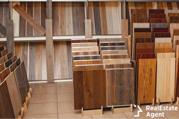 Selection of flooring materials