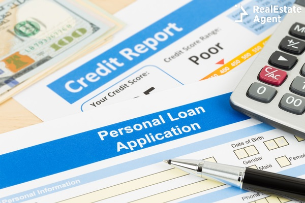 personal loan application concept
