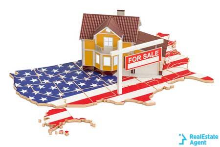 property sale usa concept