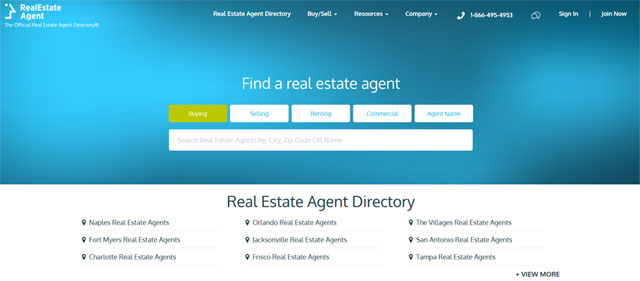 rea agents directory preview