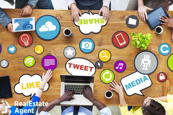 sharing social media image