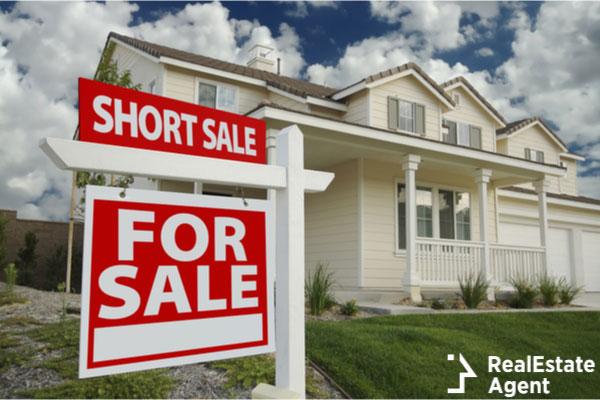 short sale home sign