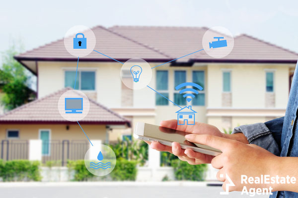 smart home secured automation