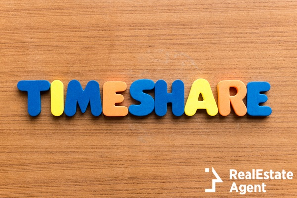 timeshare colorful word