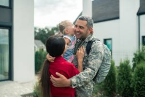 Welcome home soldier real estate agent template