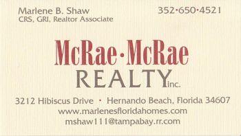 McRae-McRae Realty Inc.