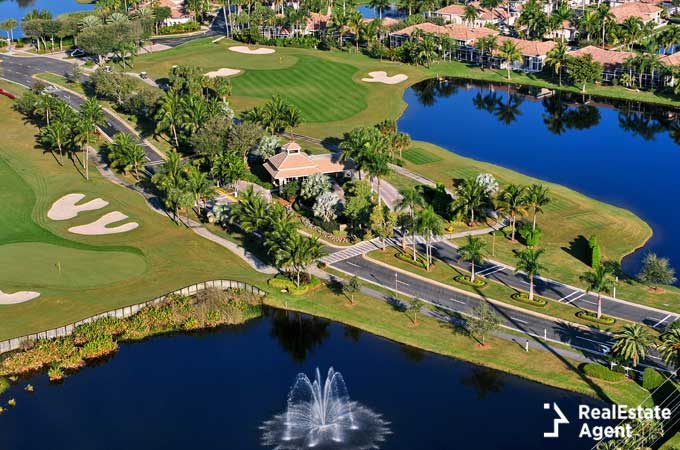 The villages FL aerial view