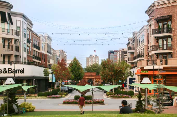 Alpharetta GA downtown view image