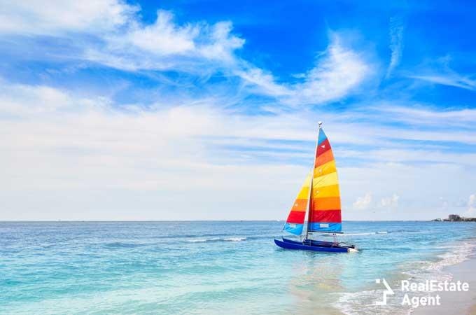 catamaran sailboat in Fort Myers FL