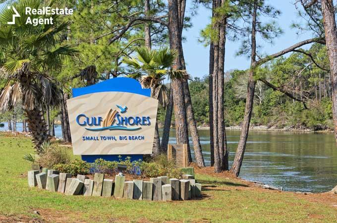 Gulf Shores Alabama welcome sign