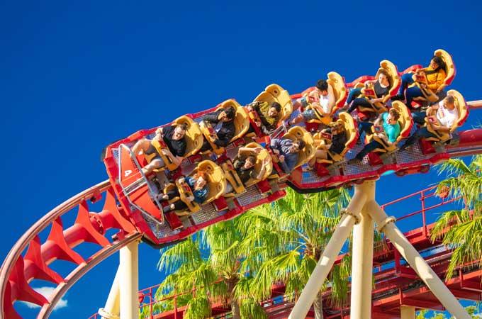 Orlando roller coaster