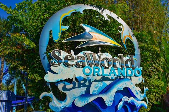 Orlando seaworld sign