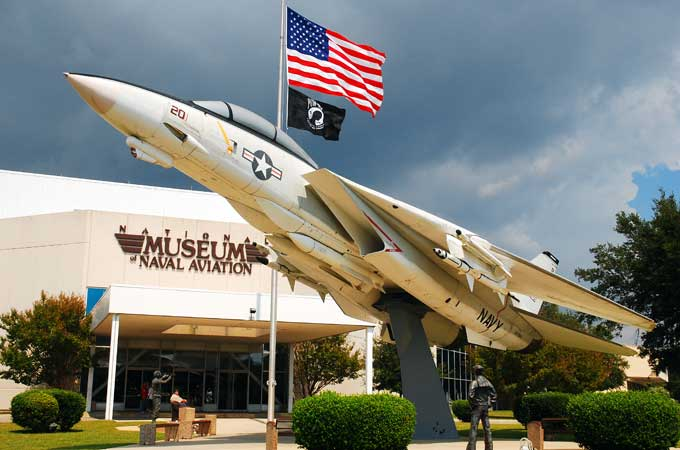 Naval Aviation Museum in Pensacola FL