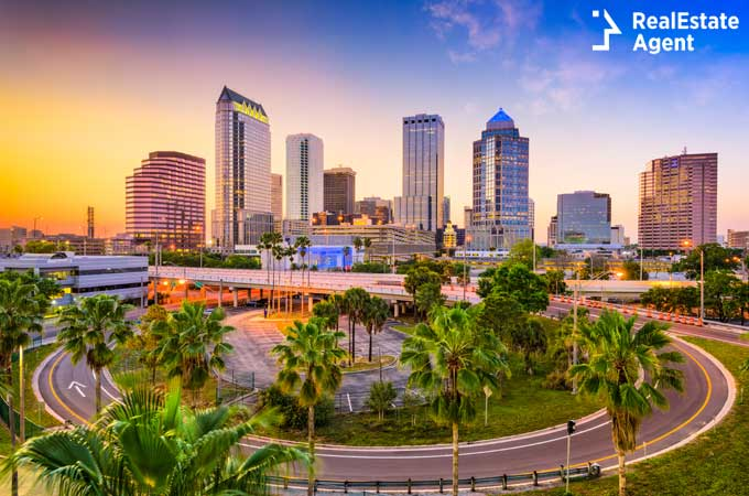 the downtown area of Tampa Florida