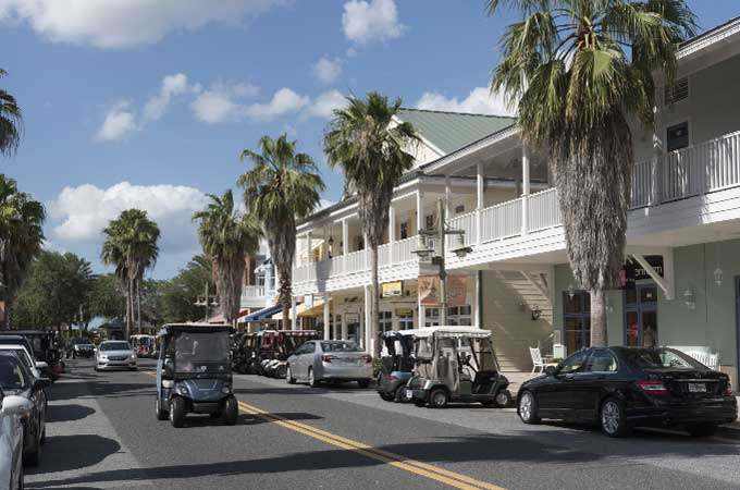 downtown image of The Villages Florida