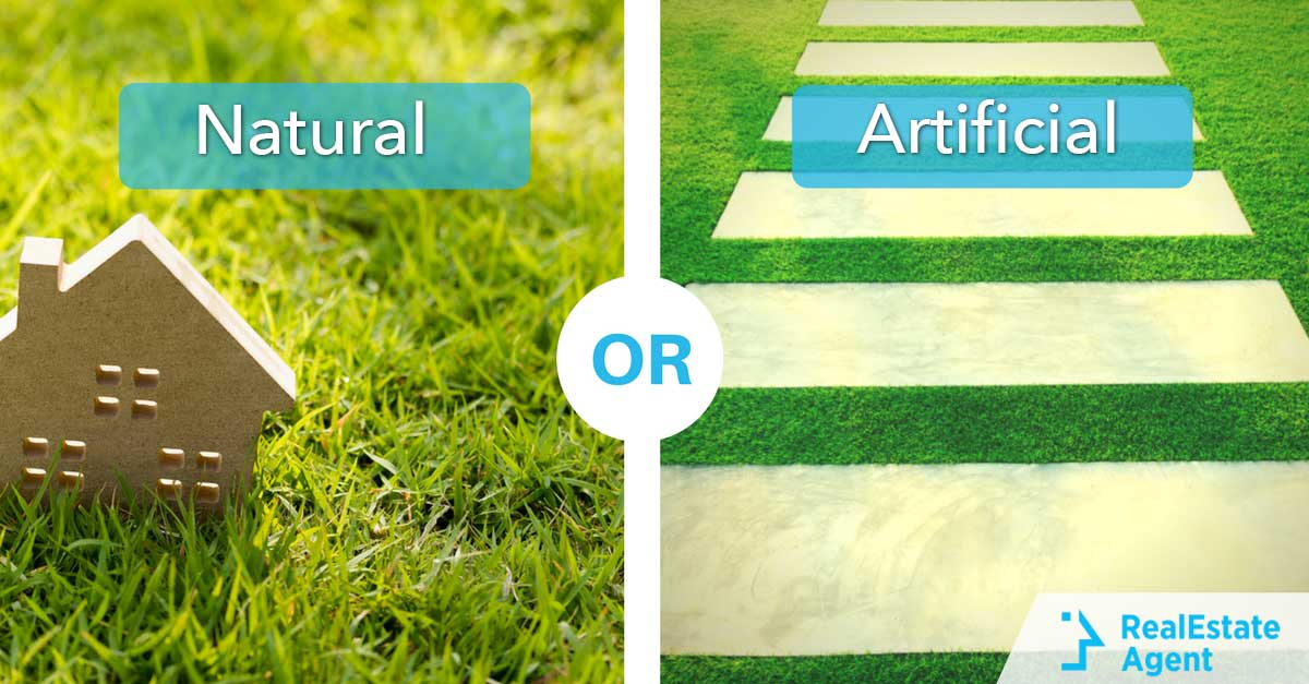 Natural Grass OR Artificial Grass