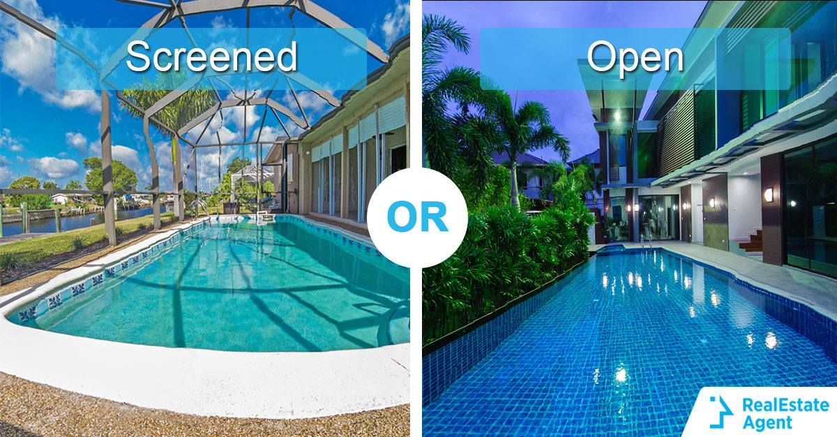 open vs covered pool