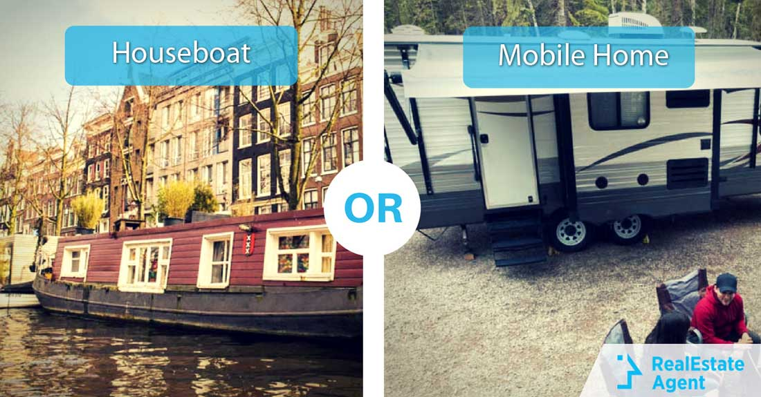 This or That Houseboat or Mobile Home