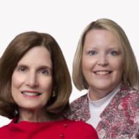 Jean Andrews and Christine Joyce