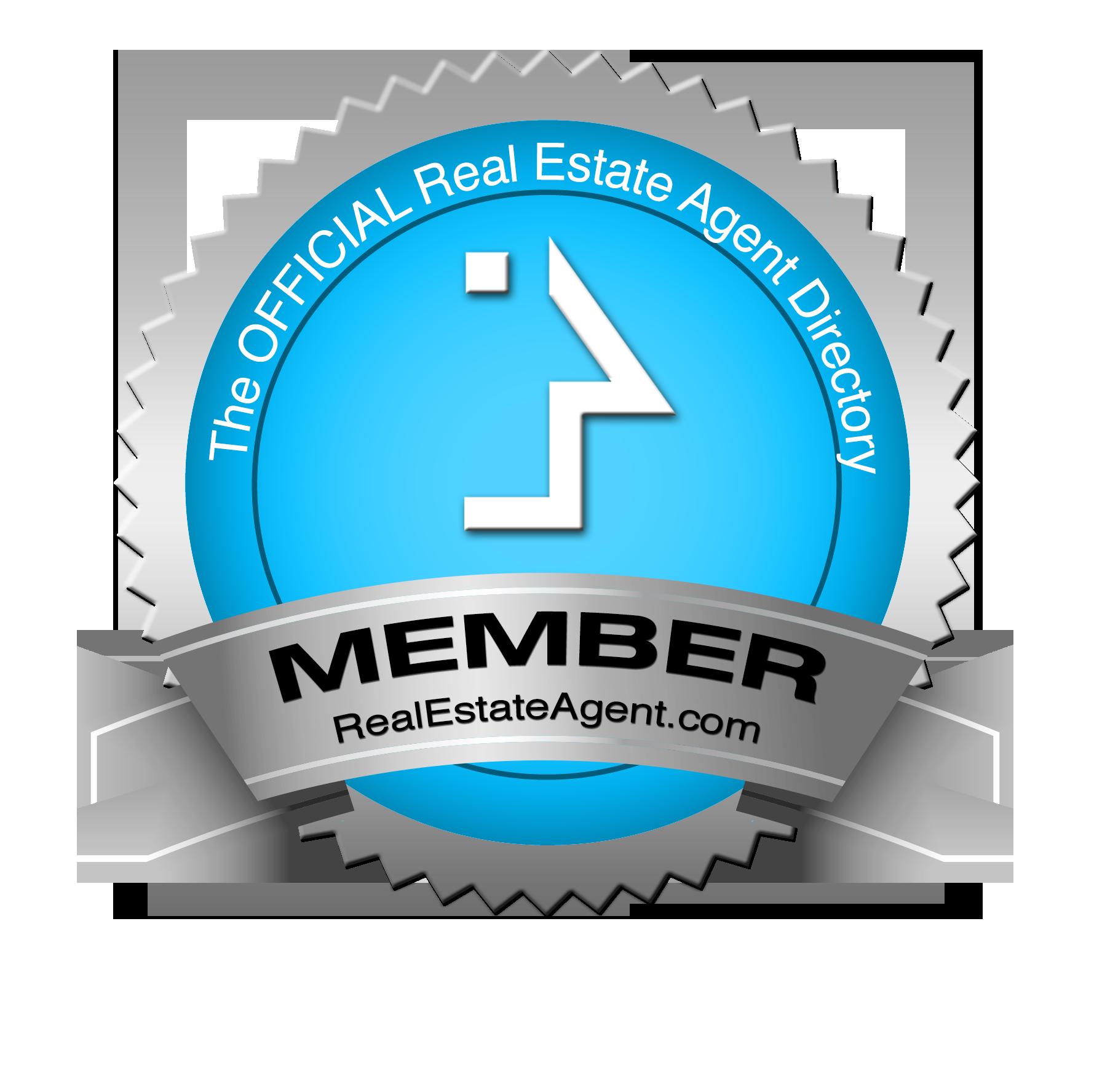 RealEstateAgent.com member badge