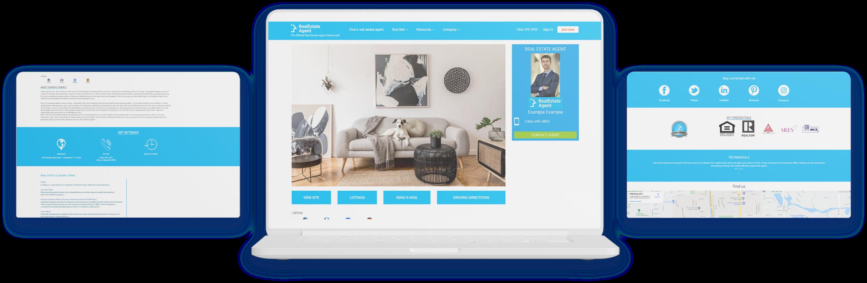 RealEstateAgent.com agent ad showcase